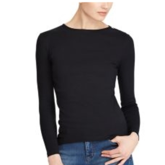 Lauren Ralph Lauren Tops - Lauren Ralph Lauren Crewneck Cotton Casual Top